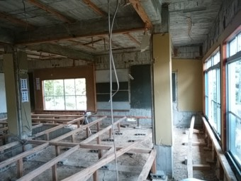床組み工事2