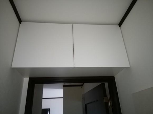 棚設置後のトイレ