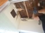 解体後の天井