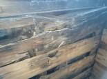 窓下の木部の腐食拡大
