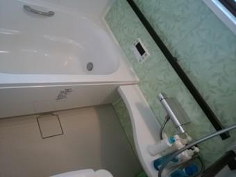 リフォーム後のお風呂