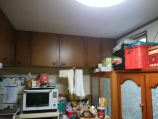 リフォーム前の食器棚