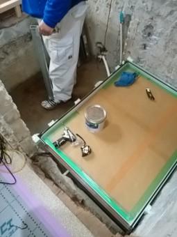 浴室洗い場設置