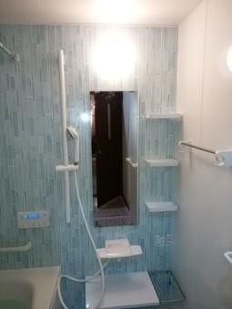 ユニットバス棚鏡シャワー