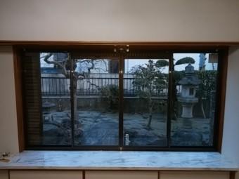 リフォーム前の窓