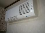 洗面室暖房機