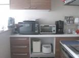 キッチンとカップボード