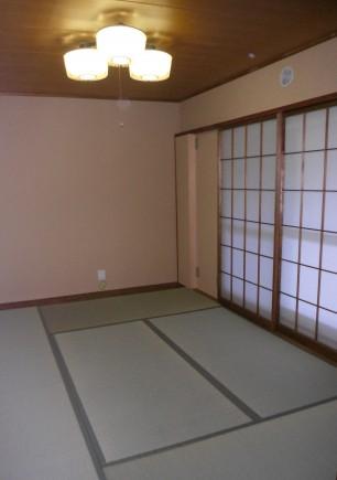 畳のいい匂いがする和室