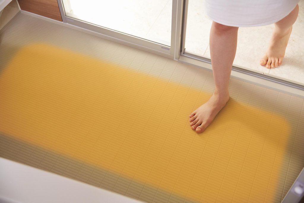 お風呂の床暖房
