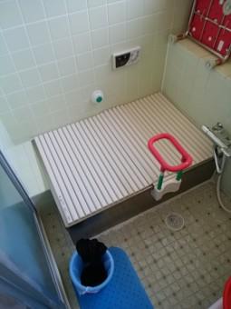 リフォーム前の浴室