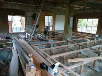 床組み工事