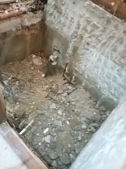 お風呂すべて解体撤去