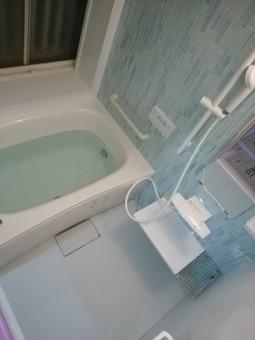 お風呂リフォーム完成
