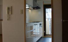 キッチン入口からの画像